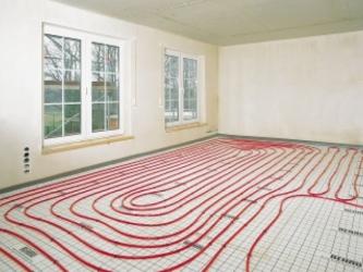 chauffage par le sol. Black Bedroom Furniture Sets. Home Design Ideas